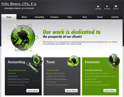 Felix Blanco, CPA, P.A. - Tampa Certified Public Accounting Firm located in the West Chase area of Tampa Bay