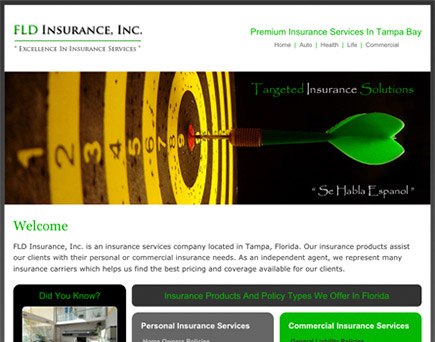 FLD Insurance, Inc. - Personal and Commercial Insurance Provider for individuals and businesses in the state of Florida