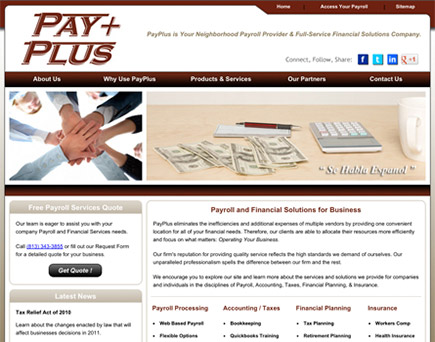 PayPlus, Inc. - Payroll and Financial Services Provider in Tampa Bay